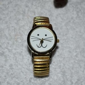 Smiley Kitty Cat Watch